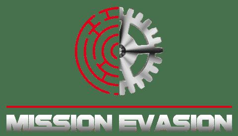 Escape Game Lyon, escape game à lyon 7ème, logo rouage Mission Évasion